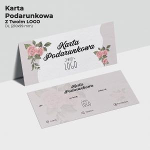 Karta Podarunkowa z logo