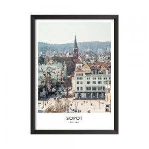Sopot Plakat do druku Polska jest Piękna