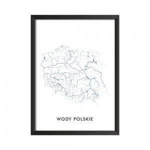 Wody Polskie Plakat do druku Polska jest piękna