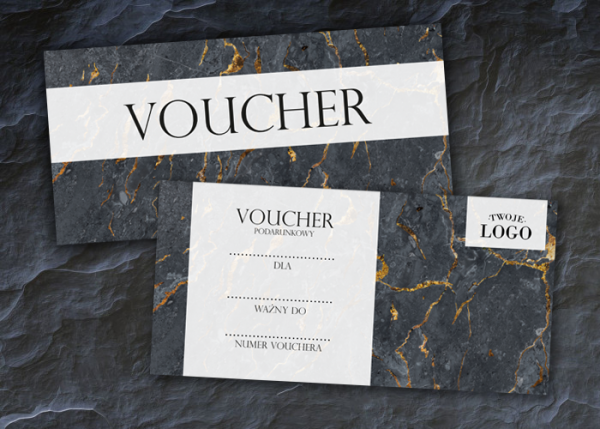 Voucher dla firm z logo