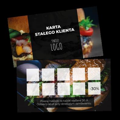 Karta_stalego_klienta_dla_restauracji_burger_fast_food_pakiet_lojalnosciowy_karta_na_stempelki_pieczatki_naklejki_dla_klientow_gastronomia_KSK-11-ZR-WIZ_wiz01